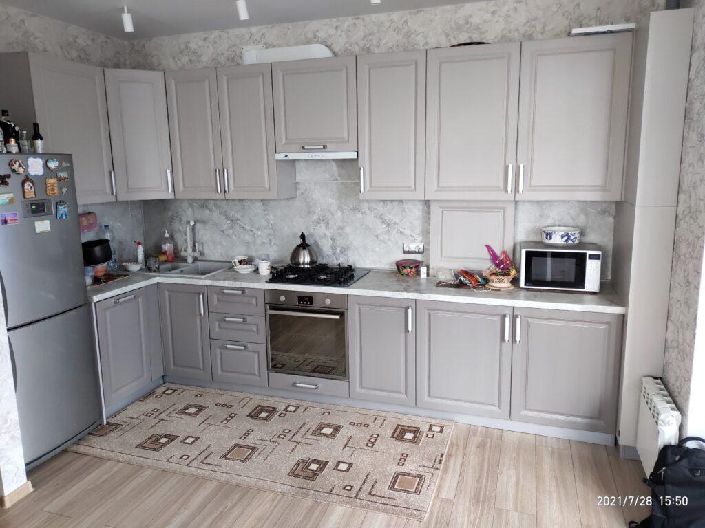 Кухня со встроенным котлом